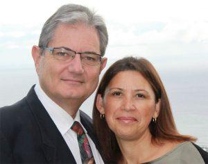 David Cizeron et son épouse Béatrice