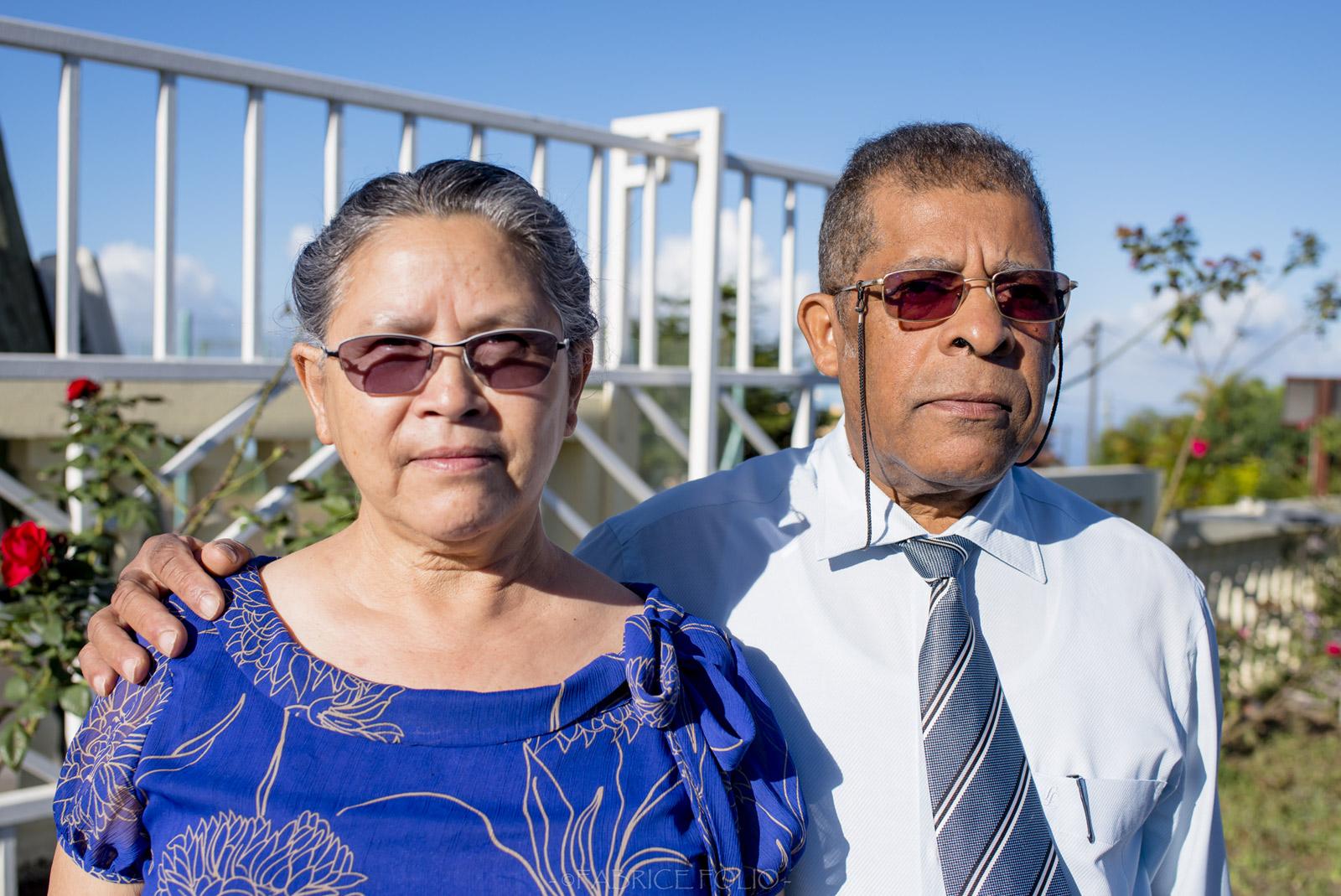 Moïse Taraconat et son épouse
