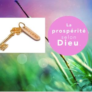La prospérité selon Dieu…Pensée du jour – 11 Octobre