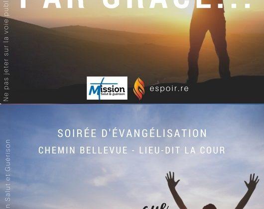Campagne d'évangélisation à Bellevue-St Louis