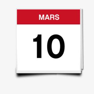 Lecture du 10 Mars