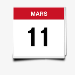 Lecture du 11 Mars