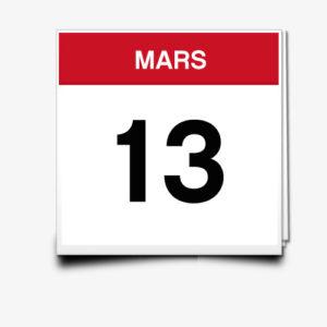 Lecture du 13 Mars