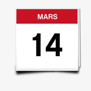 Lecture du 14 Mars