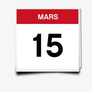Lecture du 15 Mars