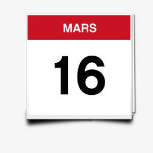 Lecture du 16 Mars