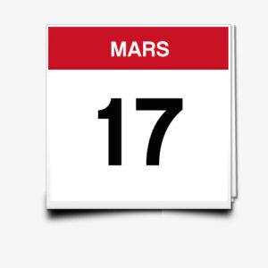 Lecture du 17 Mars