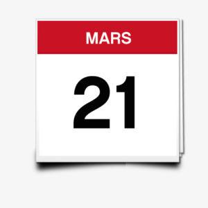 Lecture du 21 Mars
