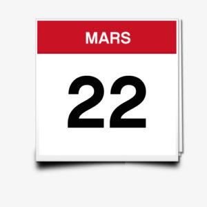 Lecture du 22 Mars