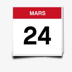 Lecture du 24 Mars