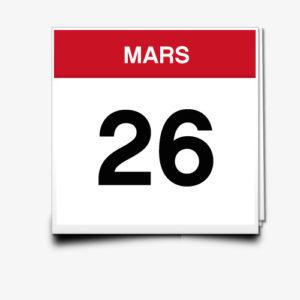 Lecture du 26 Mars