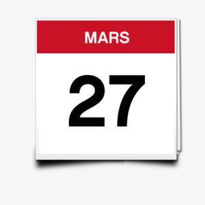 Lecture du 27 Mars