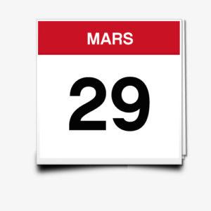 Lecture du 29 Mars