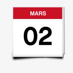 Lecture du 02 Mars