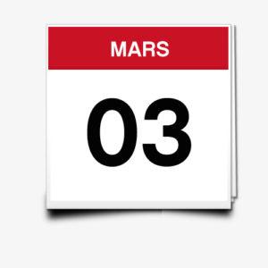 Lecture du 03 Mars