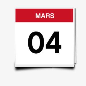 Lecture du 04 Mars