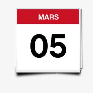 Lecture du 05 Mars