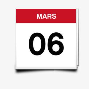 Lecture du 06 Mars