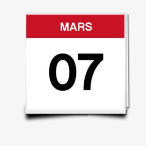 Lecture du 07 Mars