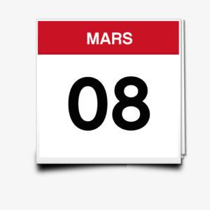 Lecture du 08 Mars