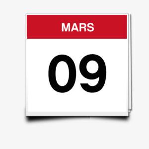 Lecture du 09 Mars