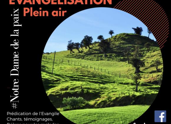 🔥 … Évangélisation dans les Hauts du Tampon… 🔥