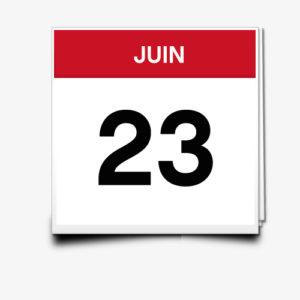 Lecture du 23 Juin