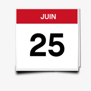 Lecture du 25 Juin