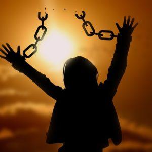 Dieu est ma délivrance.