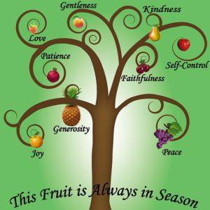 Porter du fruit à la gloire du Père.