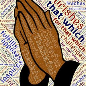 La prière.