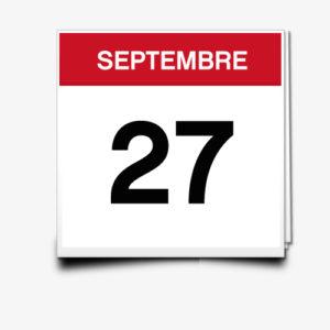 Lecture du 27 Septembre