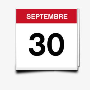 Lecture du 30 Septembre