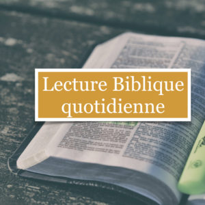 Lecture du 07 Octobre