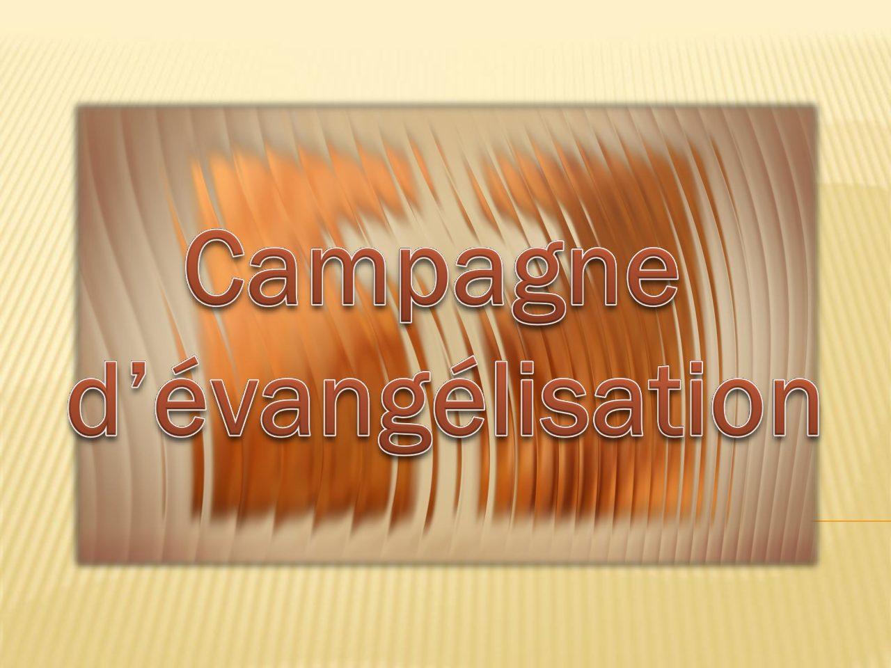 Campagne d'évangélisation Bras de Pontho (Tampon)