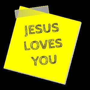 Dieu t'aime.