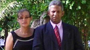 Arsène Pavadé et son épouse Cathy