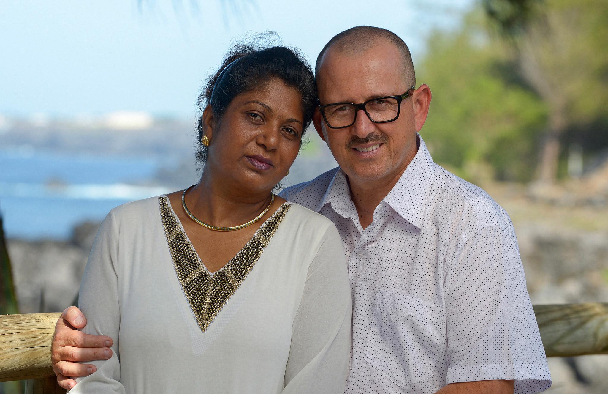 Pascal Cariou et son épouse Véronique