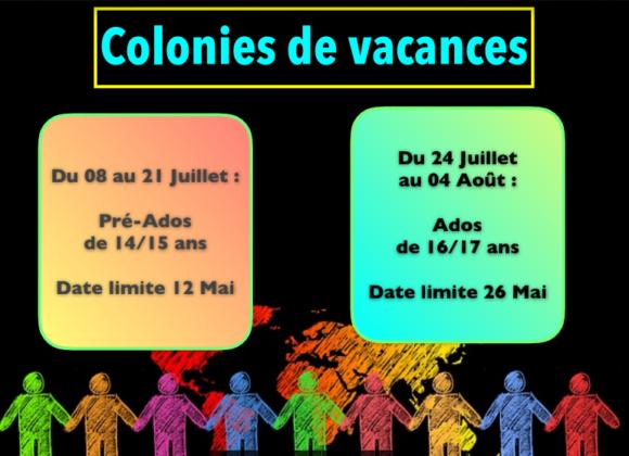 Colonies de vacances au Boucan Dos d'Âne. (Juillet 2019)