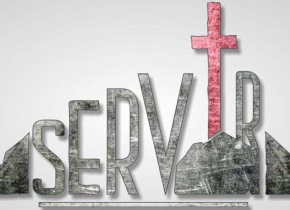 Sauvés pour servir.
