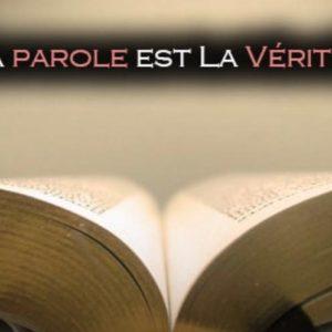 La Bible nous transforme.