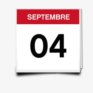 Lecture du 04 Septembre