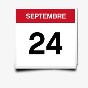 Lecture du 24 Septembre