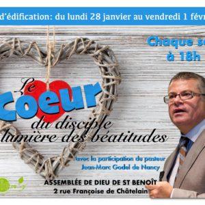 Semaine d'édification (St-Benoît)