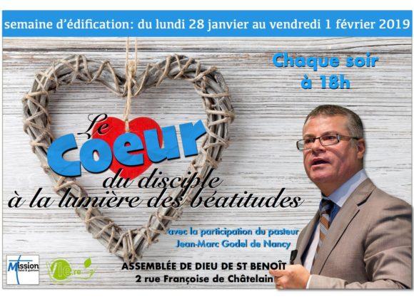 Semaine d'édification (Saint-Benoît)