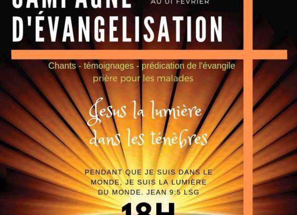 Semaine évangélisation (Site du Miel-Vert)