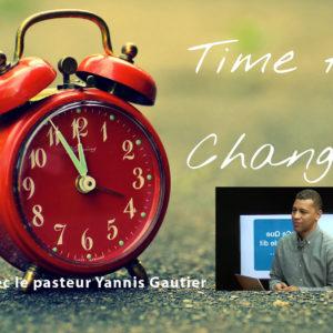 Le changement avec Jésus