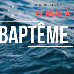 Service de baptêmes (Région Est)