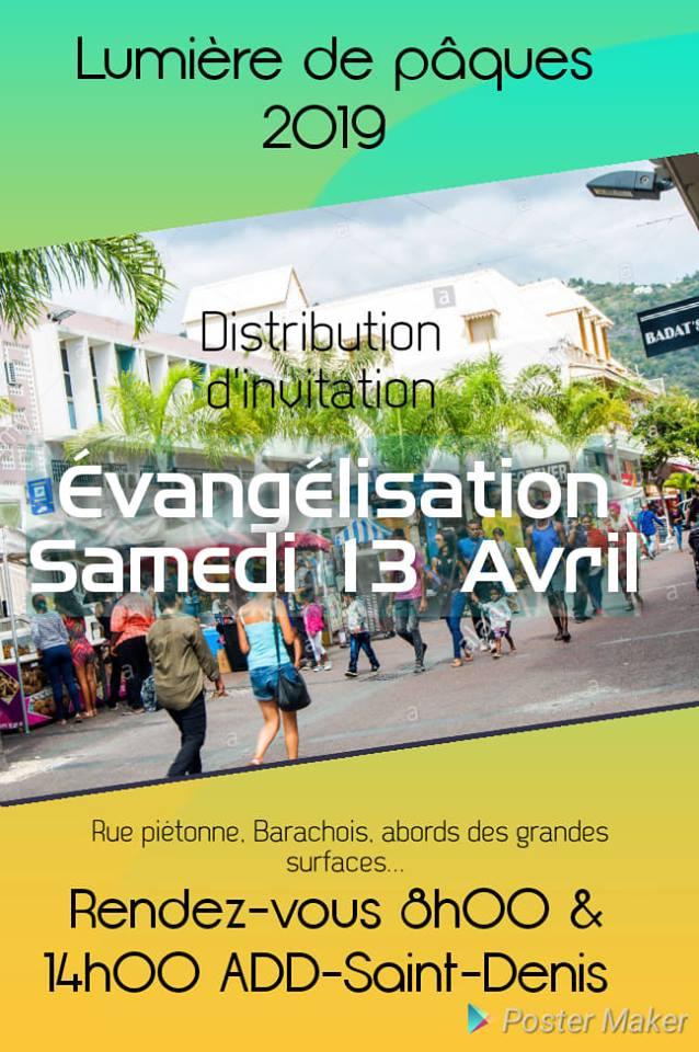 Distribution d'invitation pour le week-end LDP