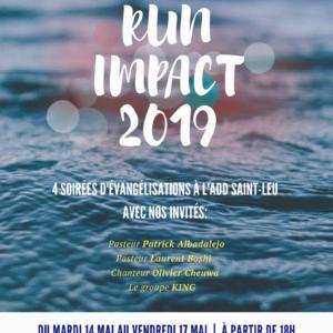 Run Impact Ouest (4 soirées à St-Leu)